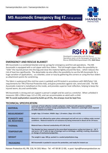 MS Ascomedic Emergency Bag FZ