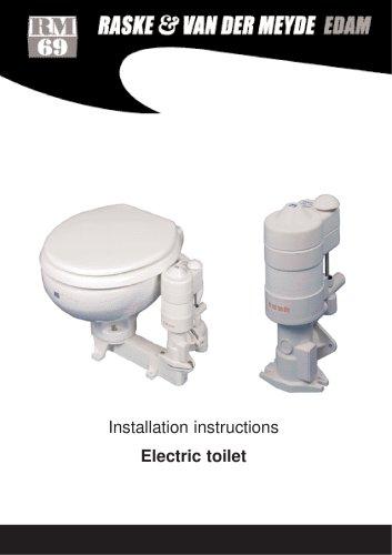 Marine toilet electric