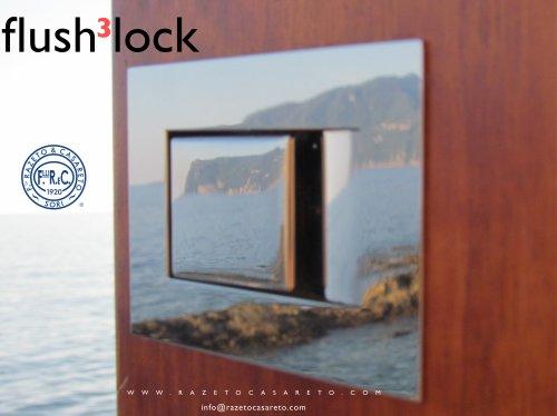 flush 3 lock cartolina
