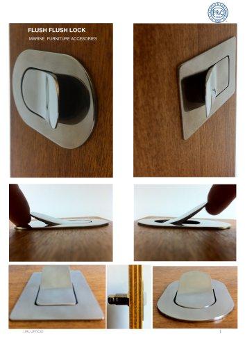Flush lock