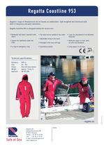 Flotation suits - Coastline 953