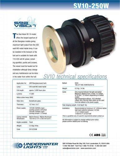 SV10-250W