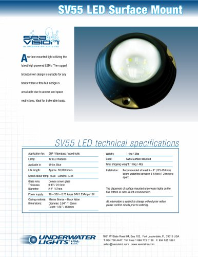 SV55 LED Surface Mount