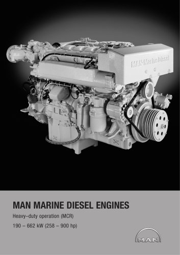 Main marine engines: Heavy duty