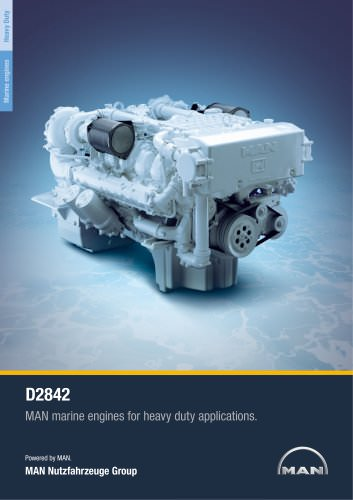 Marine engine D2842 - heavy duty