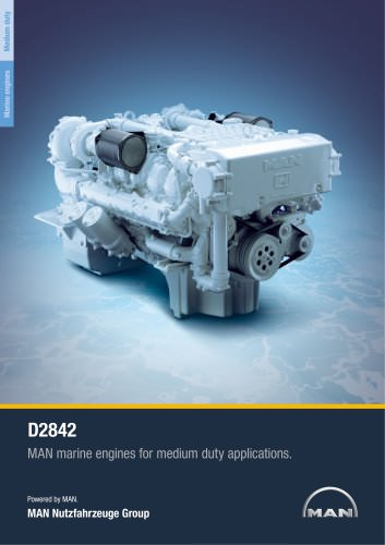 Marine engine D2842 - medium duty