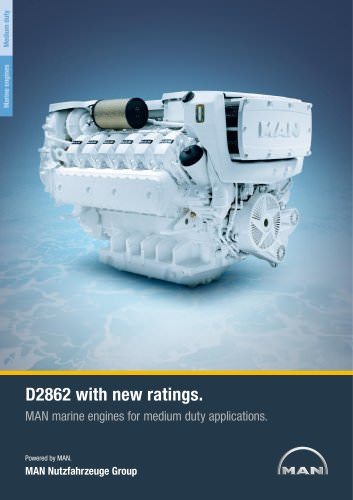 Marine engine D2862 - medium duty