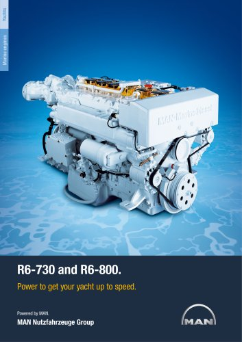 Yacht R6-730/800 LD engine