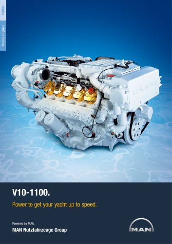 Yacht V10-1100 LD engine