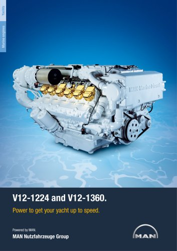 Yacht V12 1224/1360 LD engine
