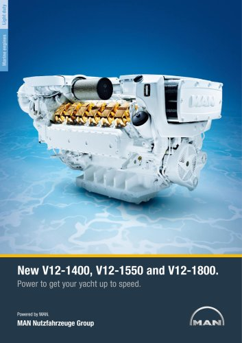 Yacht V12 1400/1550/1800 LD engine