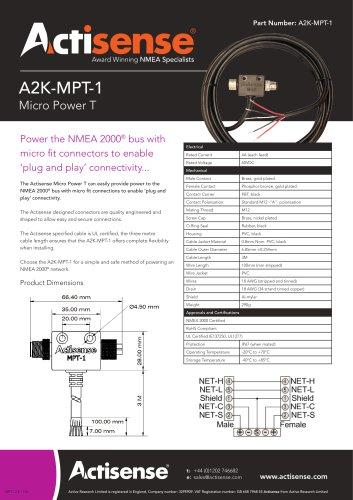 A2K-MPT-1 NMEA 2000 Power T