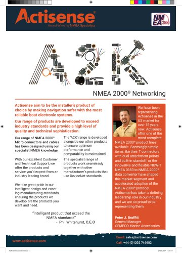 A2K Range Info sheet