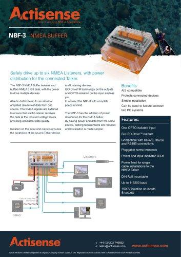 Data Sheets NBF-3 Data Sheet issue 3.00