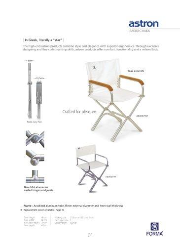 FORMA Marine Furniture Catalogue