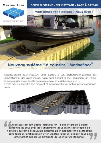 Base à bateau Marinefloor®