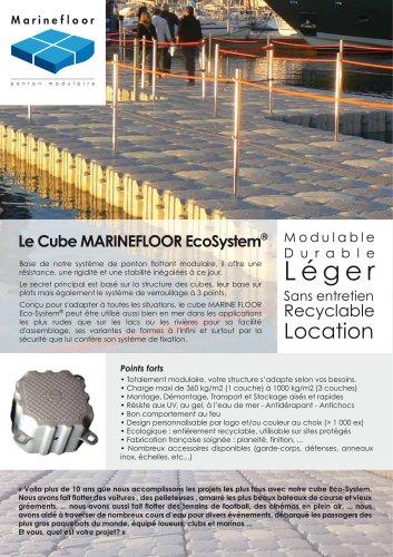 Le cube MARINEFLOOR EcoSystem®