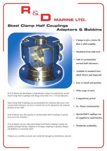 Steel Clamp Half Couplings
