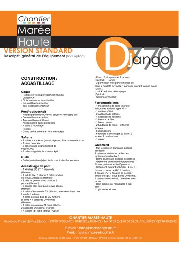 Descriptif général Django 7.70