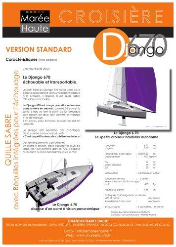 Django 6.70 caractéristiques