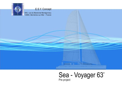 catalogue ESY concept. Sea-Voyager 63'