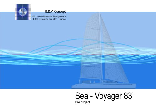 Catalogue ESY Concept. Sea-Voyager 83'
