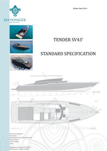 TENDER SV43'