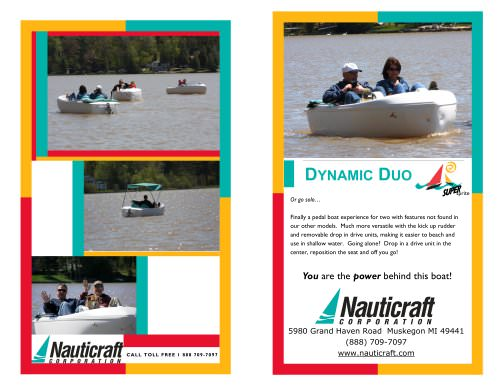 Super Sprite Pedal Boat
