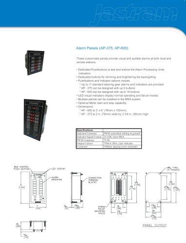 Alarm Panels (AP-375, AP-600)