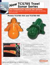 TCS785 Trawl Sonar Series