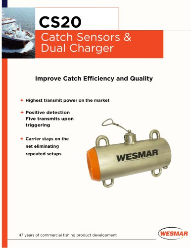 WESMAR CS20 Catch Sensors & Dual Charger
