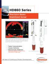 WESMAR HD860 Series Sonar