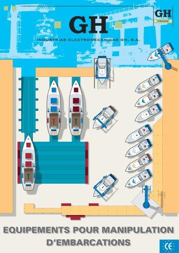 Equipements pour manipulation d'embarcation