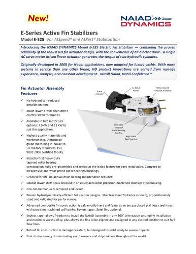 E-525 Electric Fin Stabilizer