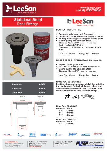 Stainless Steel Deck Fittings