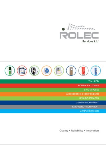 Complete Rolec Catalogue