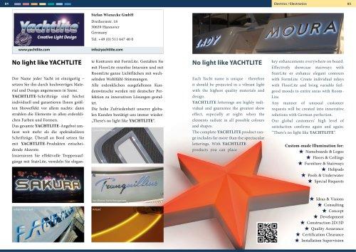 Yachtlite @ Deutsche Yachten / Superyacht Germany
