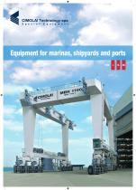Elévateurs à bateaux - gamme L-XL-XXL - 1