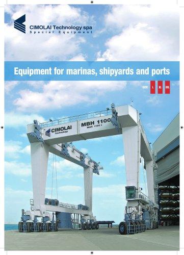 Elévateurs à bateaux - gamme L-XL-XXL