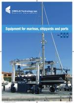 Elévateurs à bateaux - gamme XS-S-M