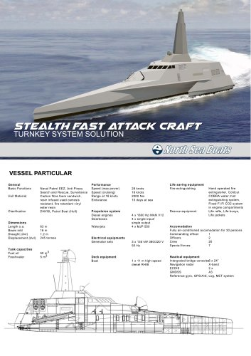 Stealth Fast Attack Craft