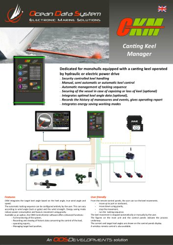 CKM - CANTING KEEL MANAGER