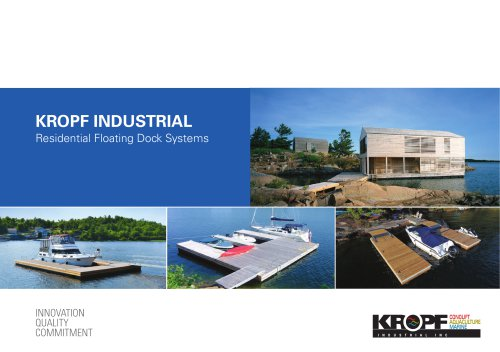 Residential Floating Dock Systems