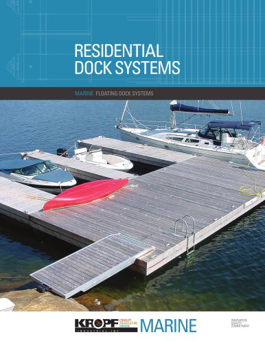 Residential Floating Dock Systems Brochure