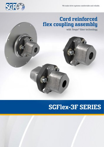 Cord reinforced flex coupling assembly