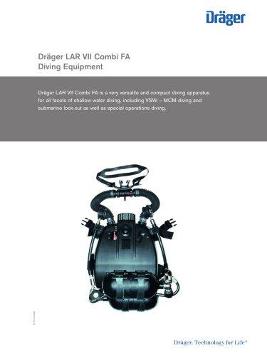 Dräger LAR VII Combi FA Diving Equipment
