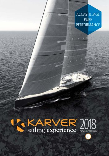 Catalogue Karver France 2018