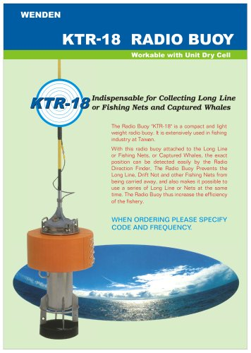 Radio buoy KTR-18