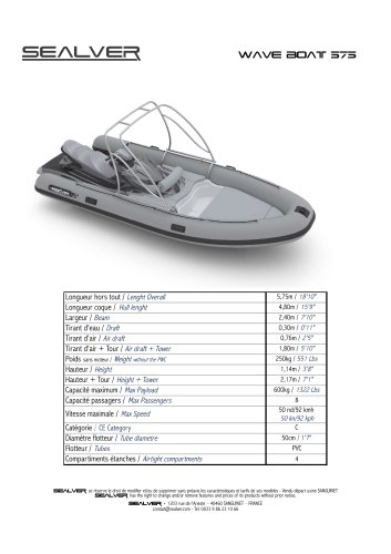 Wave Boat 575