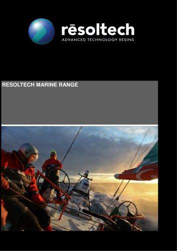 Brochure de la gamme Marine